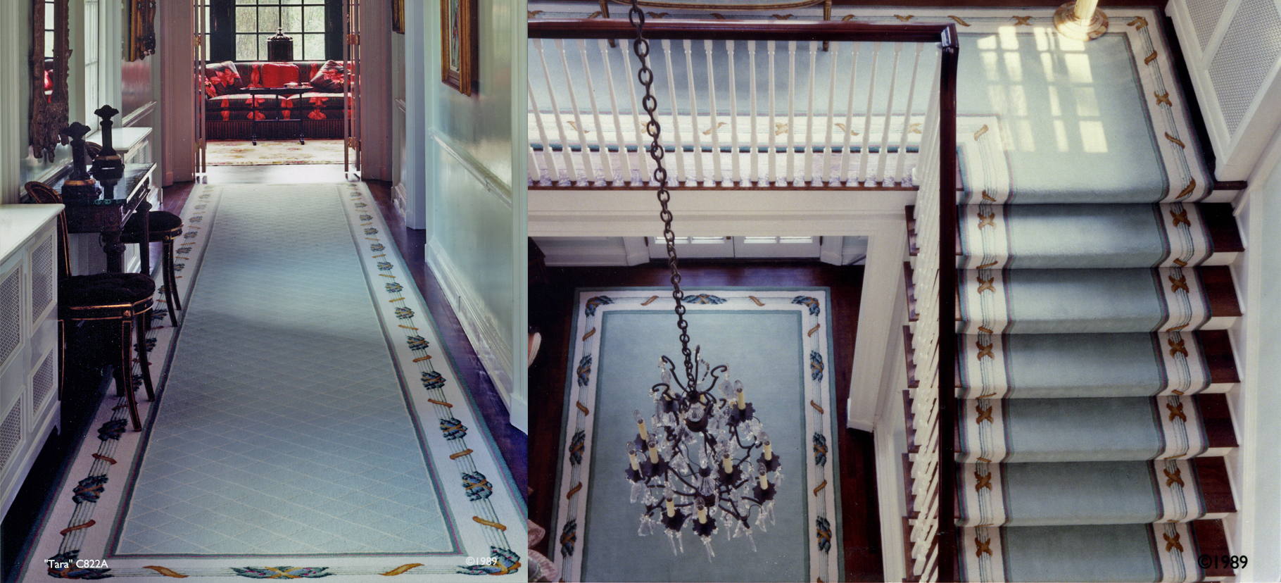 10 PORT Stair Tara blue #2.0